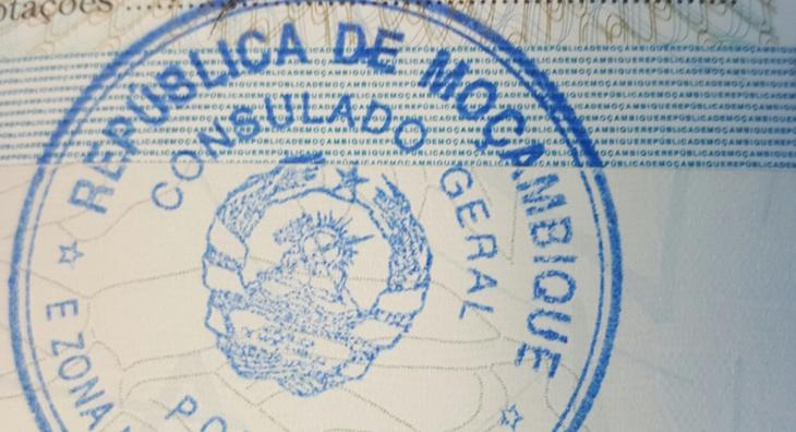Carimbo passaporte © Viaje Comigo
