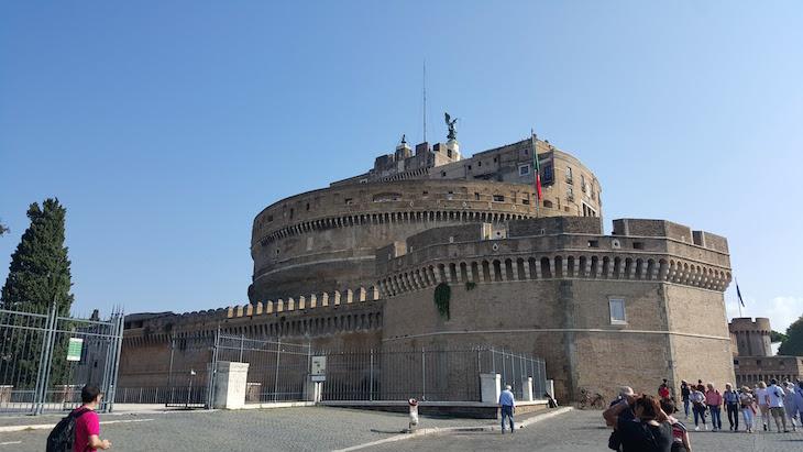 Castelo de Santo Angelo, Roma © Viaje Comigo