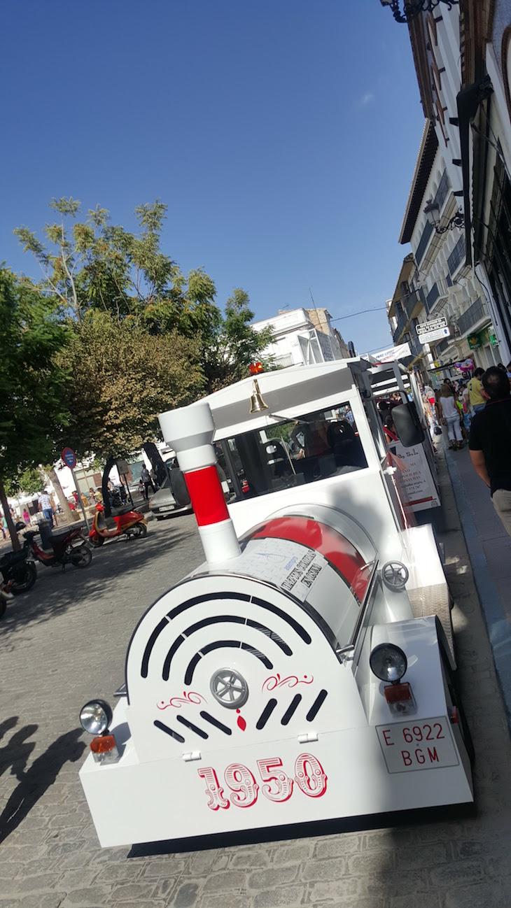 Comboio turístico do centro de Osuna - Andaluzia © Viaje Comigo