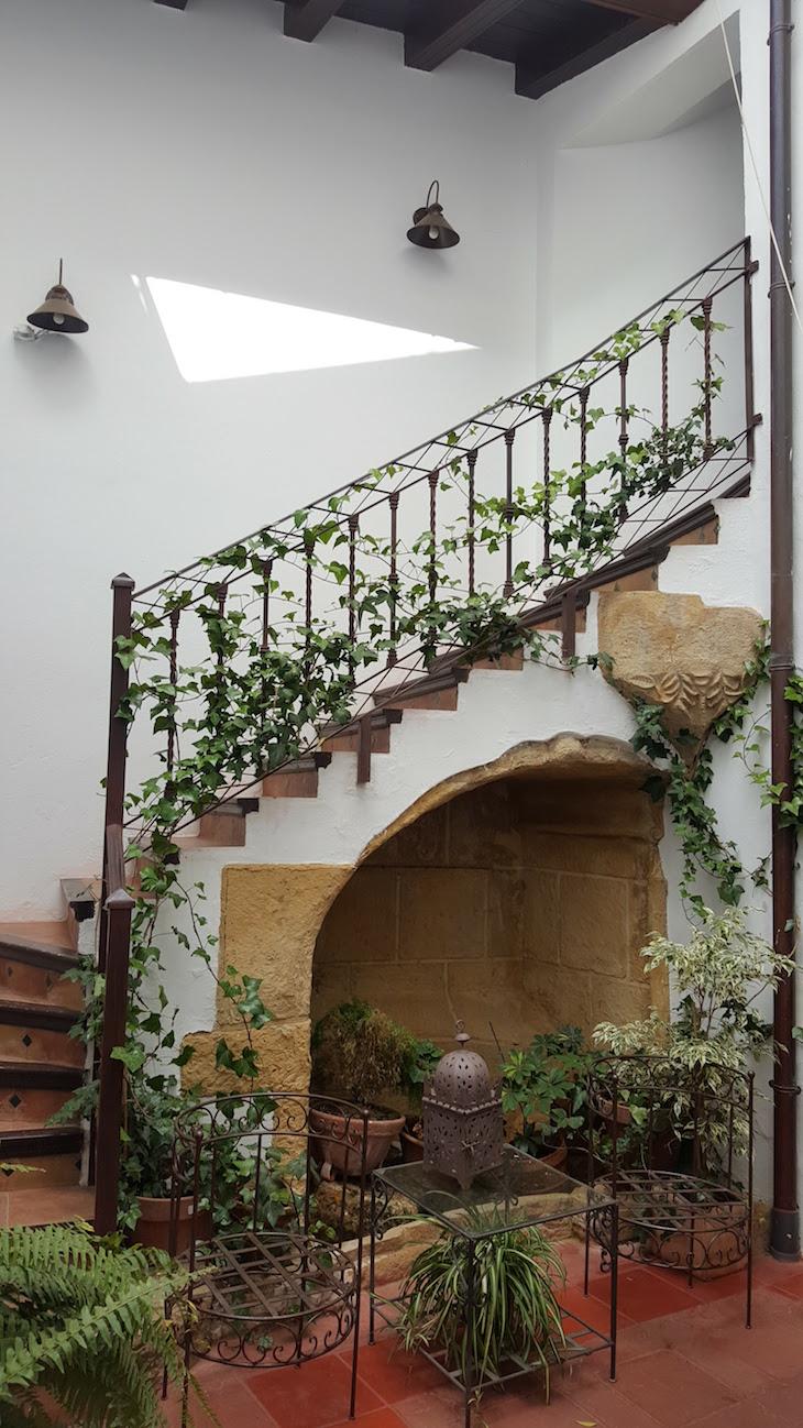 Jardim interior da Posada San Fernando, Carmona © Viaje Comigo