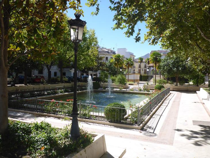 Jardins em Priego de Córdoba © Viaje Comigo