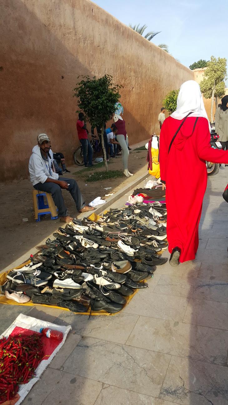 Vendedores nos passeios, fora da Medina, Rabat, Marrocos © Viaje Comigo