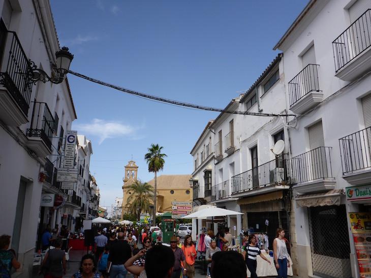Mercado de rua em Osuna - Andaluzia © Viaje Comigo