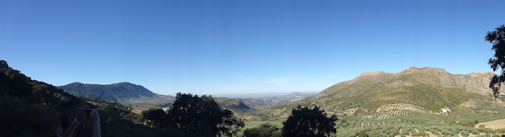 Panorâmica do Parque Natural das serras Subbéticas - Andaluzia © Viaje Comigo