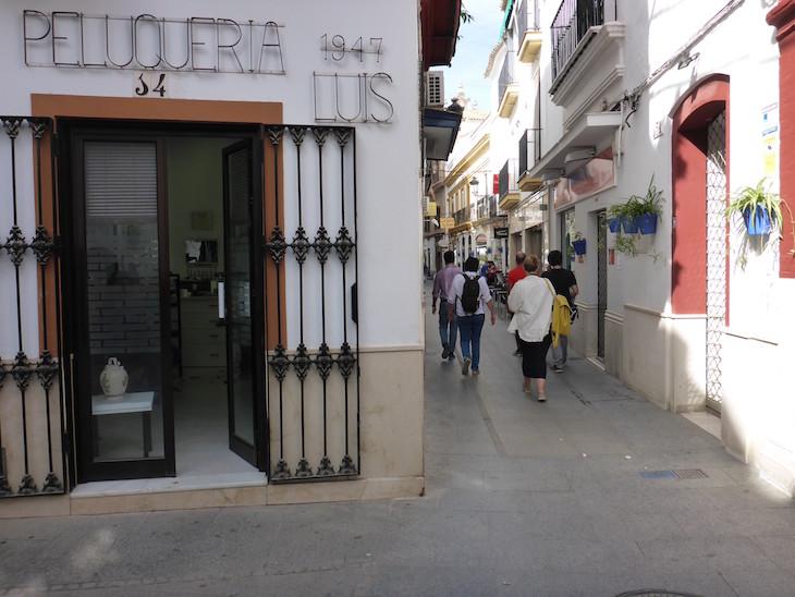 Cabeleireiro desde 1947 - Écija, Andaluzia © Viaje Comigo