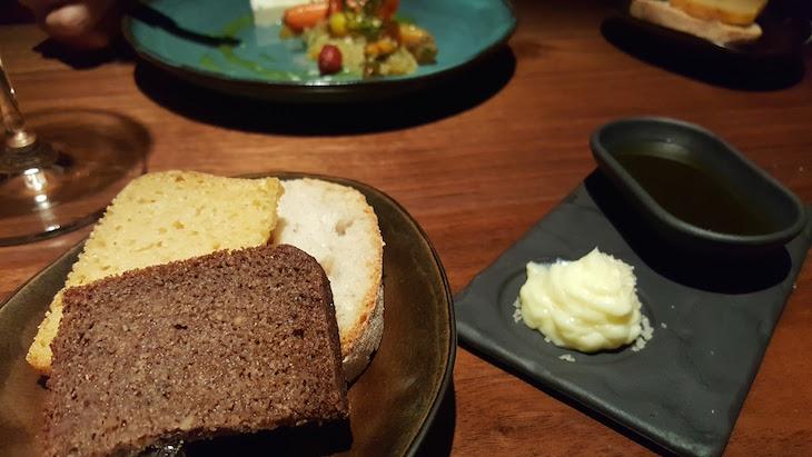 Pães no restaurante Alma © Viaje Comigo