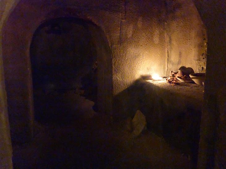 Santo Sepulcro no Museu da Paixão - Cabra © Viaje Comigo