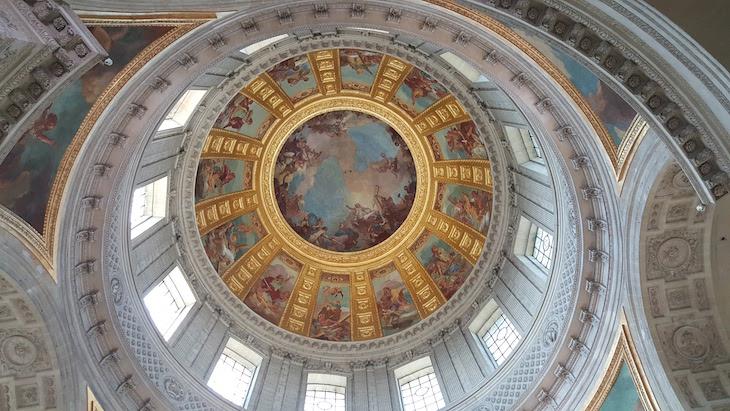 Teto da Église du Dôme - Hotel National des Invalides © Viaje Comigo