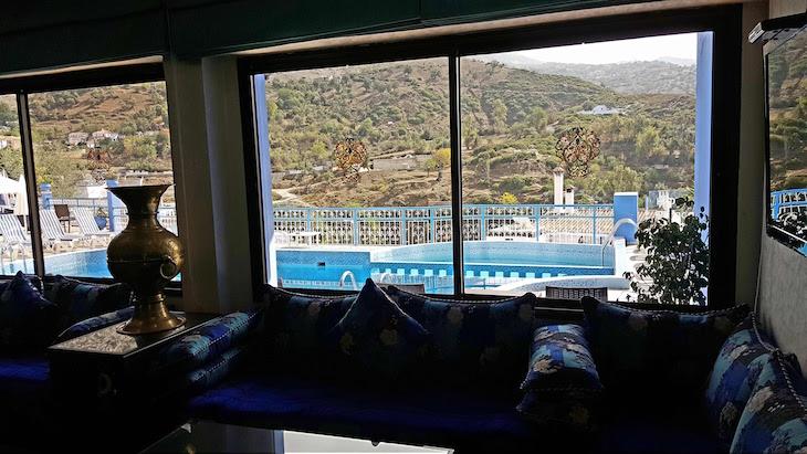 Hotel Parador, Chefchaouen - Marrocos © Viaje Comigo