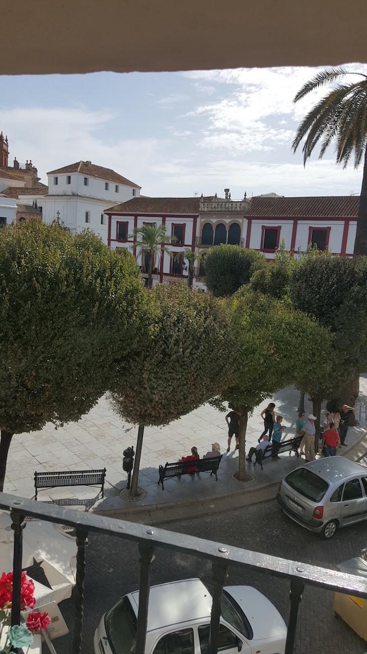 Vista do quarto da Posada San Fernando, Carmona © Viaje Comigo
