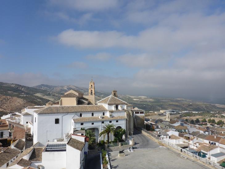 Vista do castelo para Baena - Andaluzia © Viaje Comigo