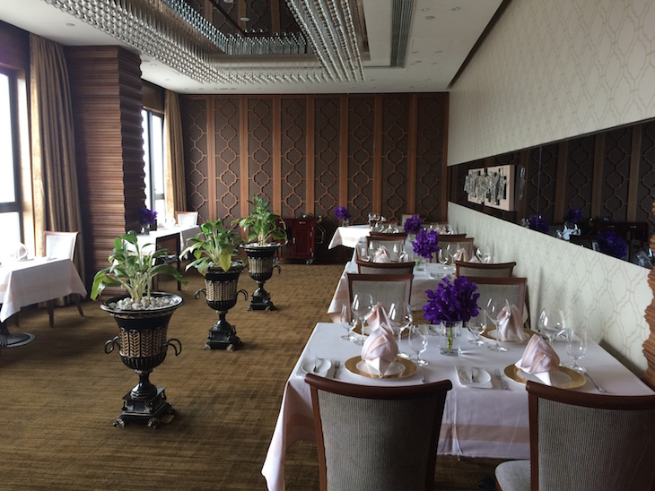 Restaurante francês - Sofitel Macau At Ponte 16 © Viaje Comigo
