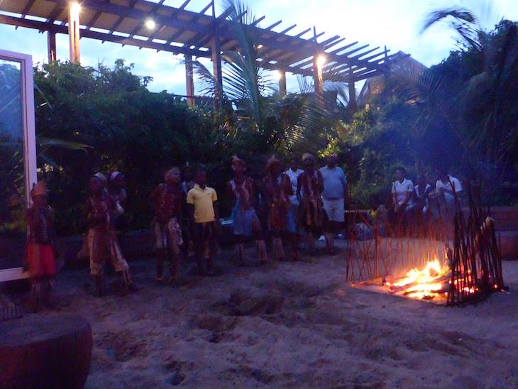 À fogueira no White Pearl - Ponta Mamoli - Moçambique © Viaje Comigo