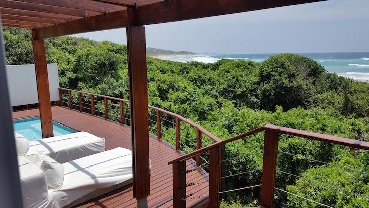Piscina privada na suite no White Pearl - Ponta Mamoli - Moçambique © Viaje Comigo