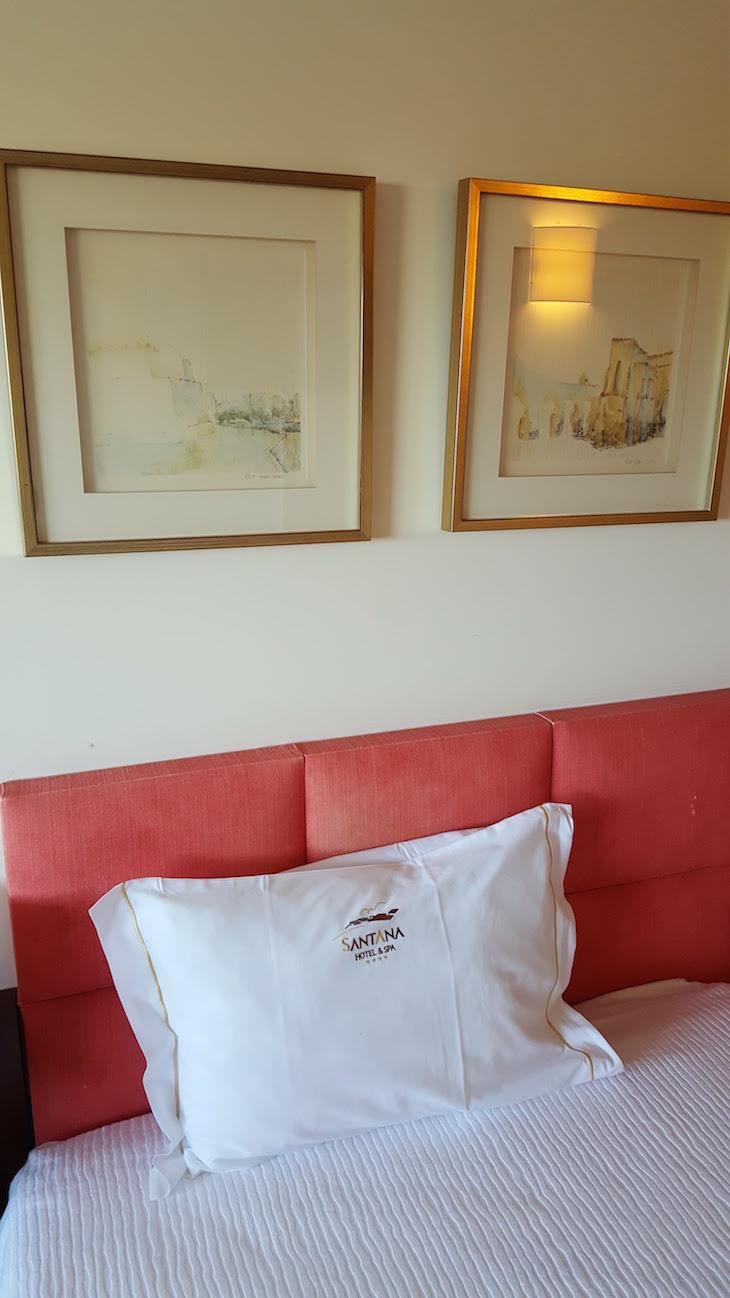 No quarto do Santana Hotel & Spa, Vila do Conde © Viaje Comigo