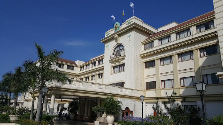 Fachada do Polana Serena Hotel, Maputo © Viaje Comigo