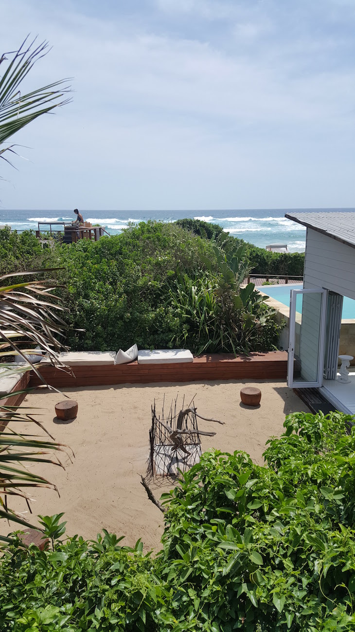 Fogueira do White Pearl - Ponta Mamoli - Moçambique © Viaje Comigo