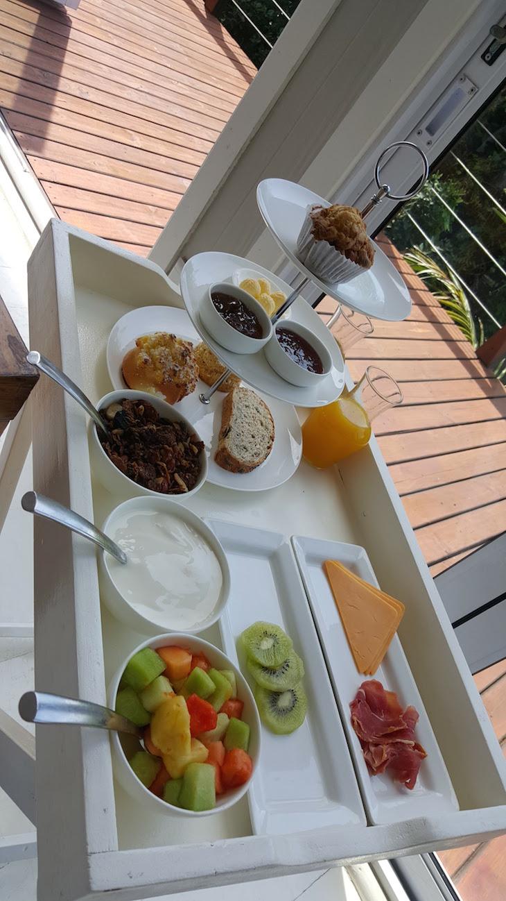 Pequeno-almoço no White Pearl - Ponta Mamoli - Moçambique © Viaje Comigo