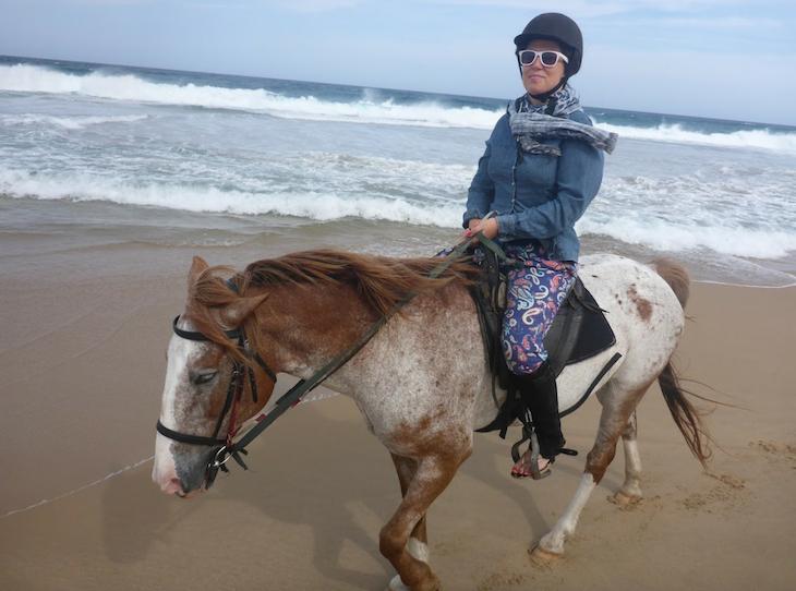 Passeio a cavalo- White Pearl - Ponta Mamoli - Moçambique © Viaje Comigo