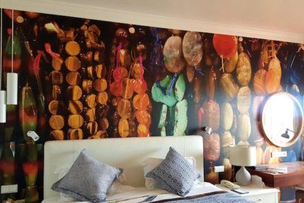 Pormenor do papel de parede - Polana Mar © Viaje Comigo