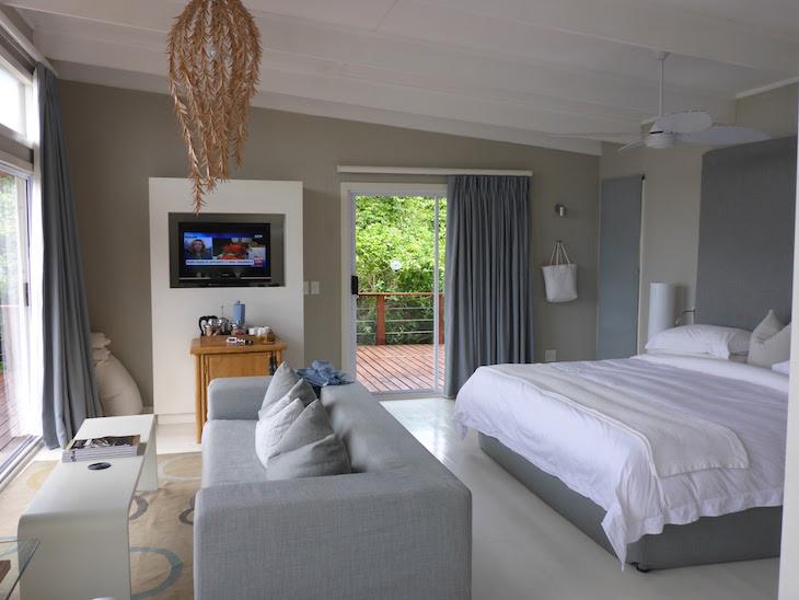 A minha suite no White Pearl - Ponta Mamoli - Moçambique © Viaje Comigo