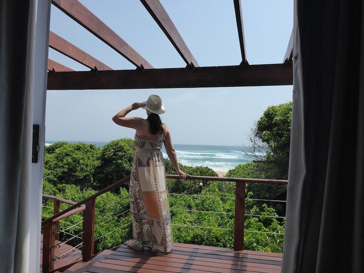 Susana no White Pearl - Ponta Mamoli - Moçambique © Viaje Comigo