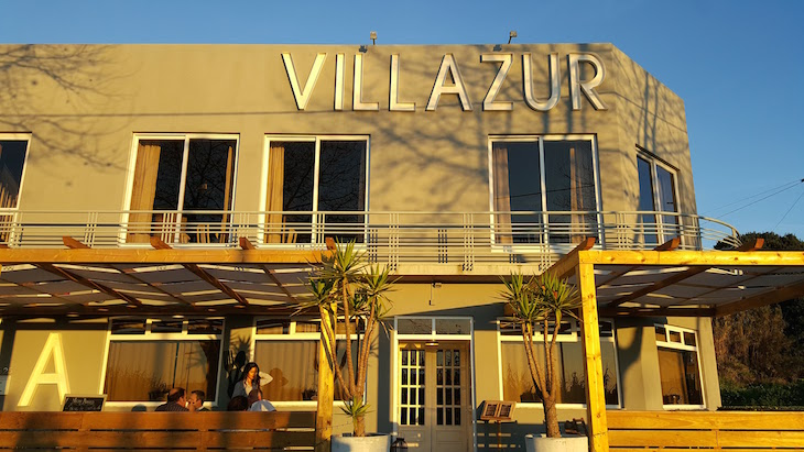 Entrada do Restaurante Villazur - Vila do Conde © Viaje Comigo