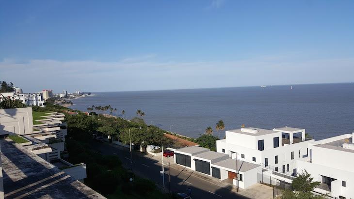 Vista para a baía do Polana Serena Hotel, Maputo © Viaje Comigo