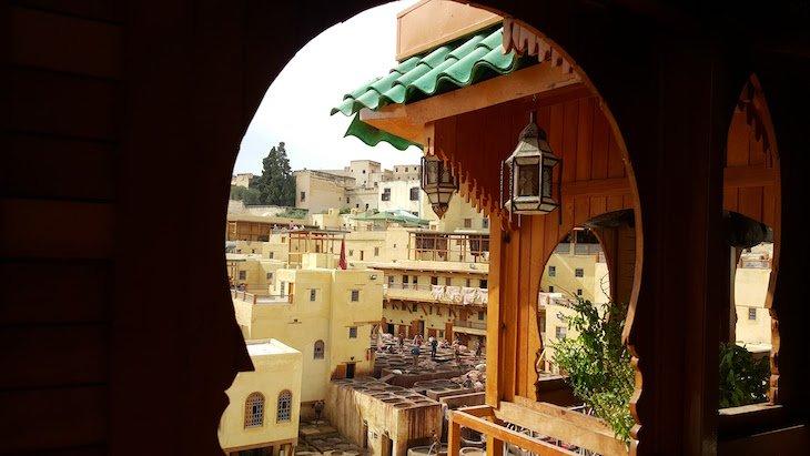 Tinturarias e Curtumes de Fez, Marrocos © Viaje Comigo