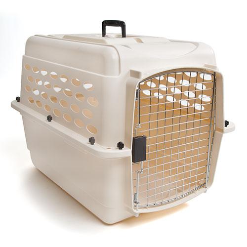 Caixa de transporte para cães Vari Kennel © DR