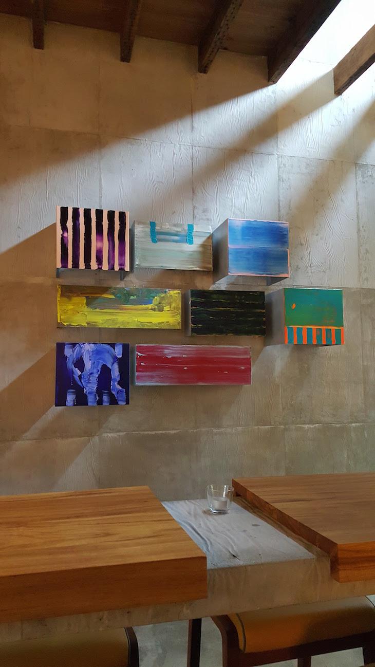 Arte no Restaurante Oficina © Viaje Comigo