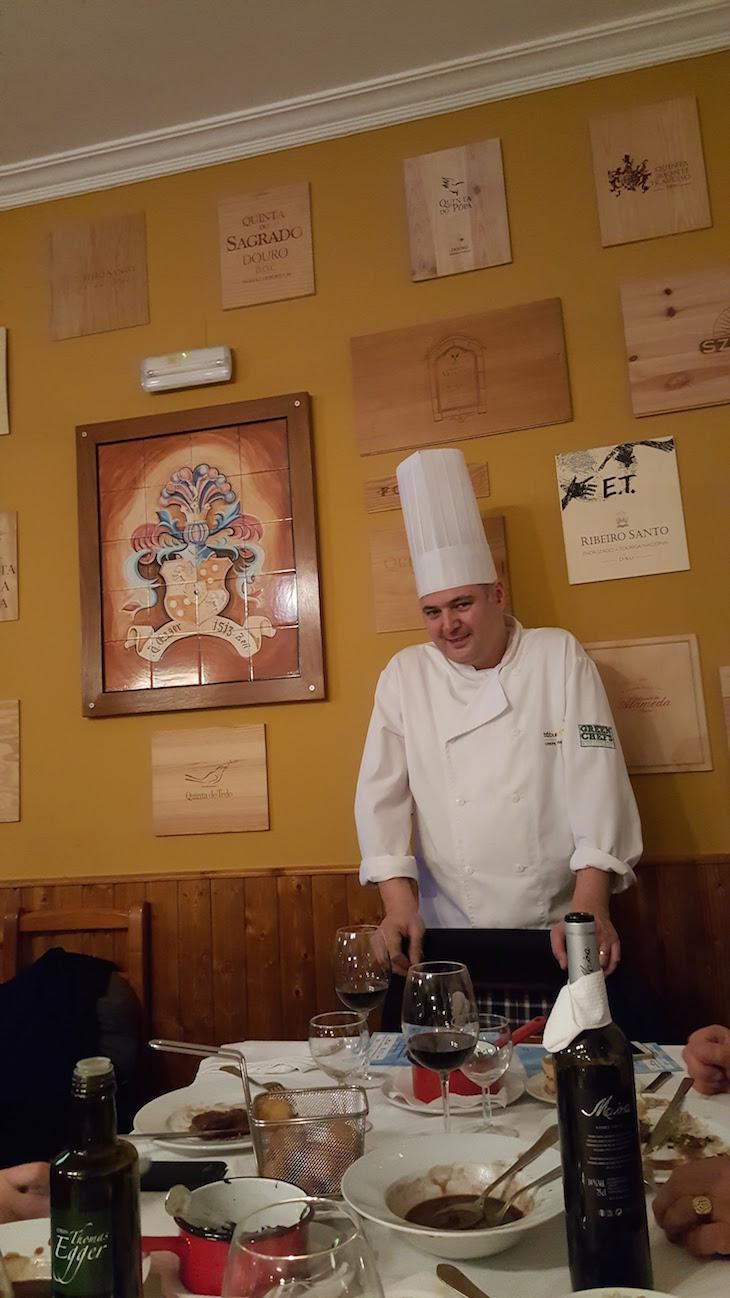 Chef Thomas Egger - Restaurante Tábuad'Aço © Viaje Comigo
