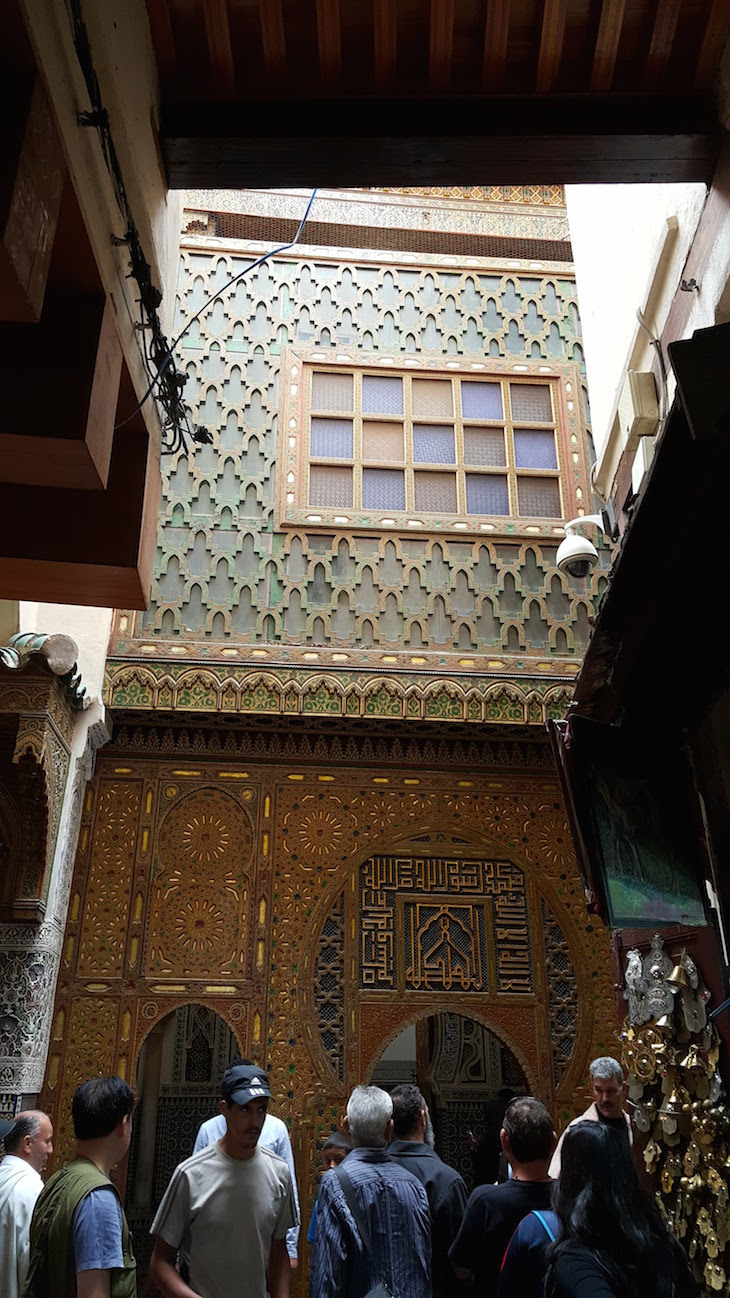 Entrada Zaouia Moulay Idriss II  - Fez -Marrocos © Viaje Comigo