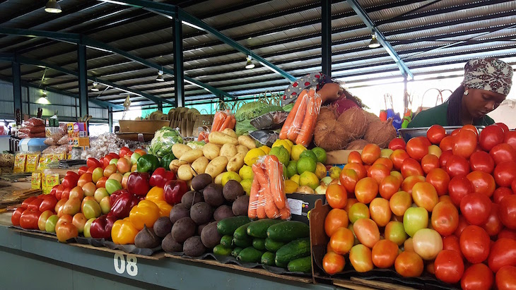 Mercado Municipal de Maputo © Viaje Comigo