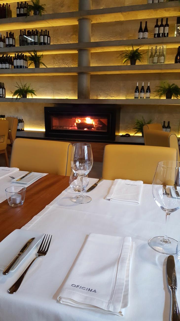 Sala do Restaurante Oficina © Viaje Comigo