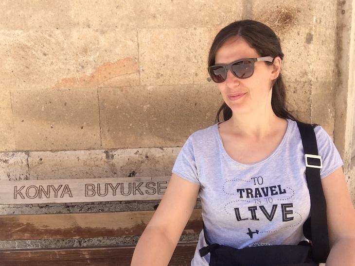 Susana Ribeiro em Konya Turquia © Viaje Comigo