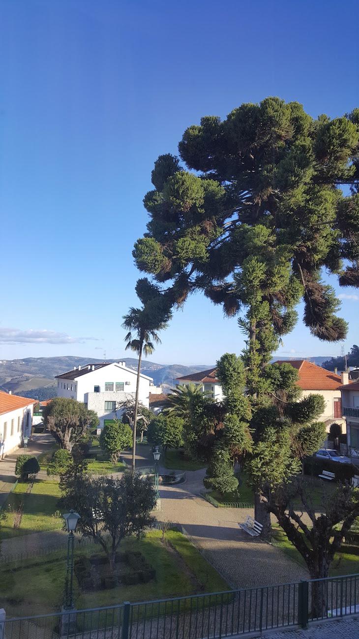 Vista do quarto da Casa dos Ruis, Tabuaço © Viaje Comigo