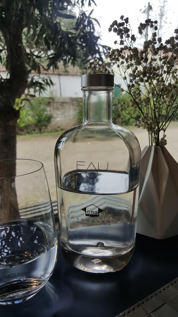 Água no Restaurante Cais da Vila © Viaje Comigo