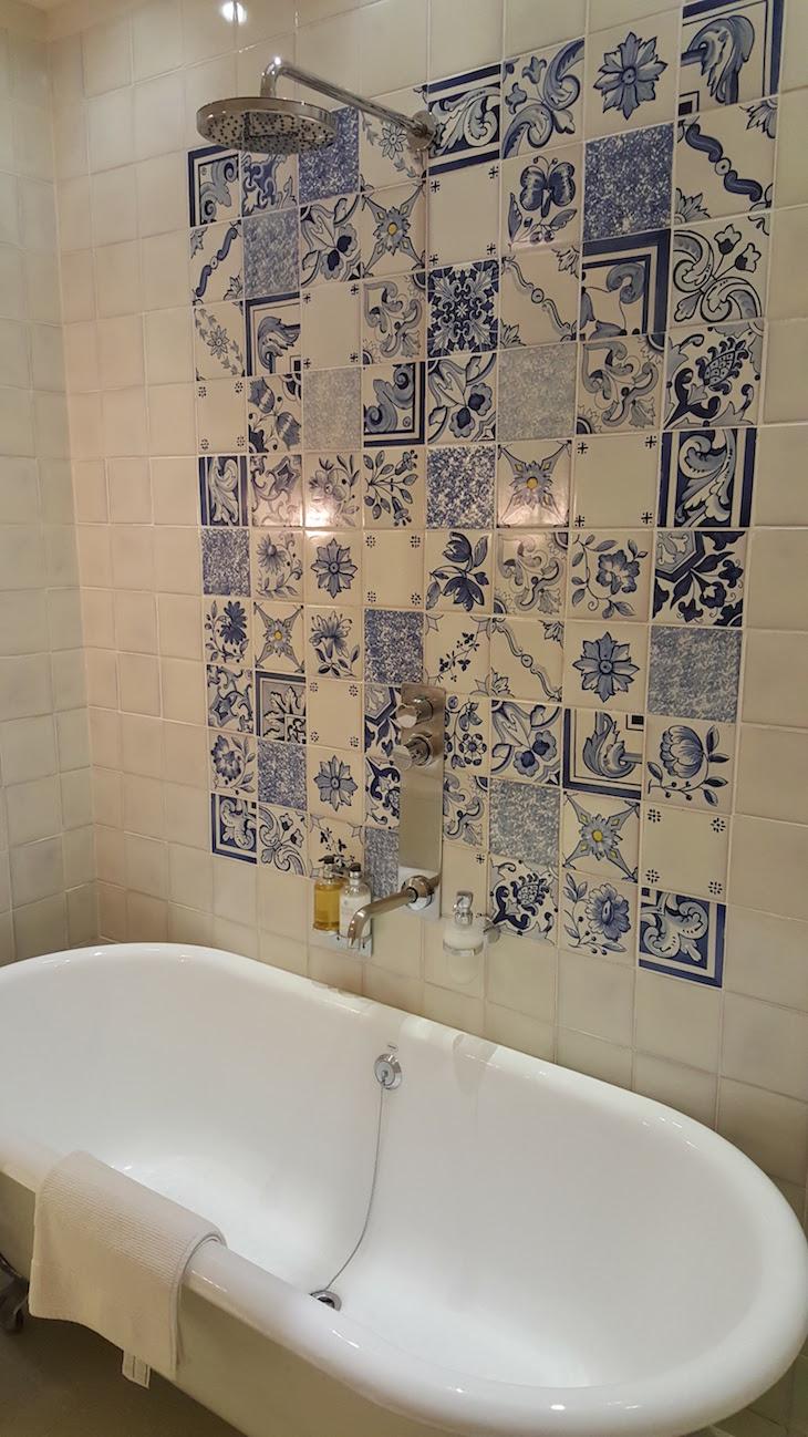 WC no Quarto Patricia da Quinta de la Rosa © Viaje Comigo