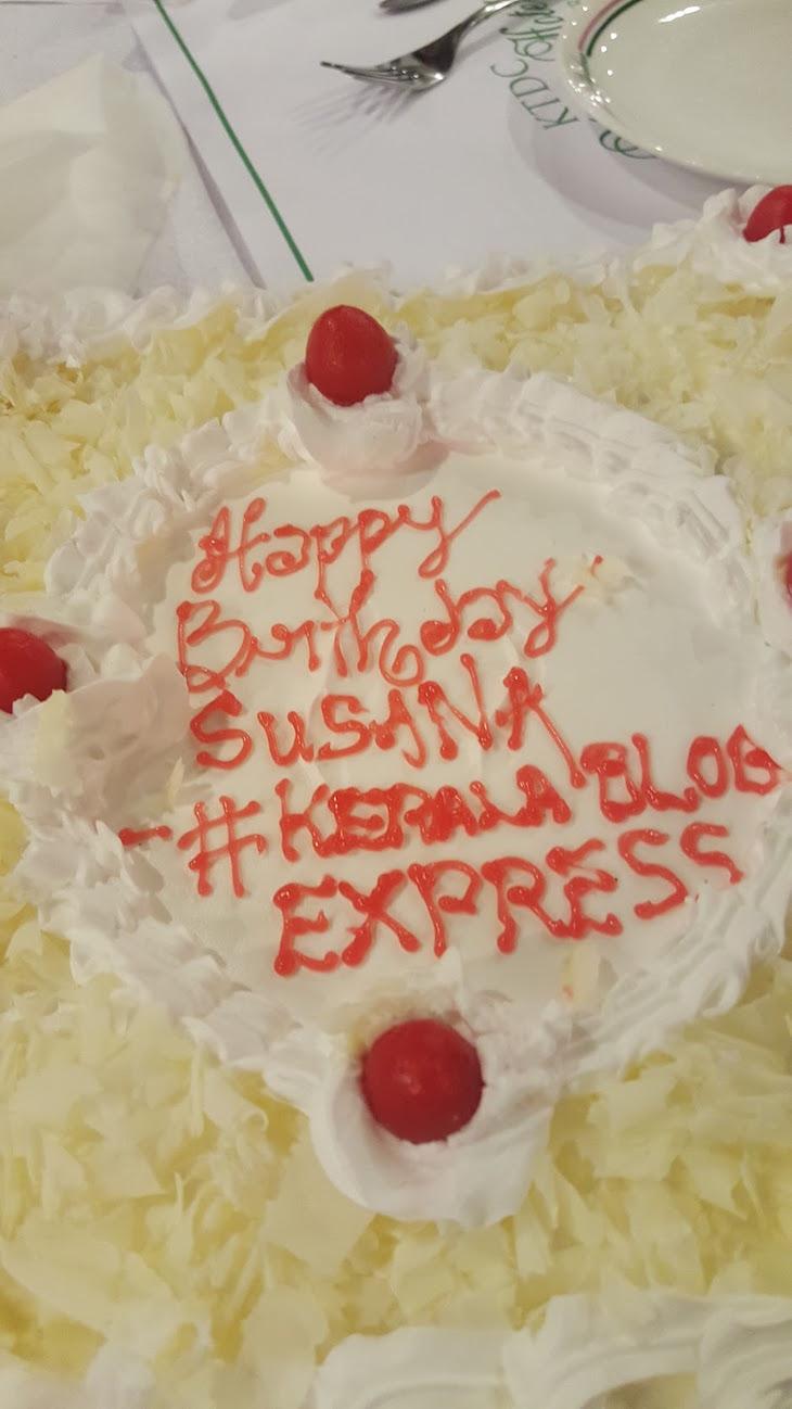 Bolo de Aniversário Susana Ribeiro © Kerala Blog Express 2016