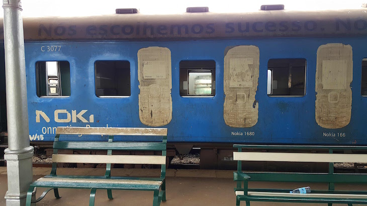 Estação do Caminho de Ferro de Maputo - Moçambique© Viaje Comigo