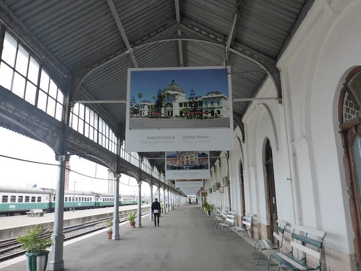 Exposição das mais belas gares do mundo - Estação do Caminho de Ferro de Maputo - Moçambique© Viaje Comigo