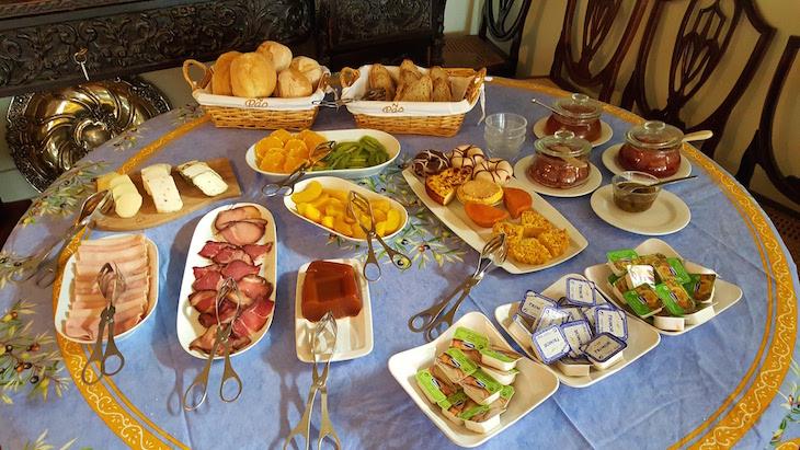 Pequeno-almoço na Quinta de la Rosa © Viaje Comigo