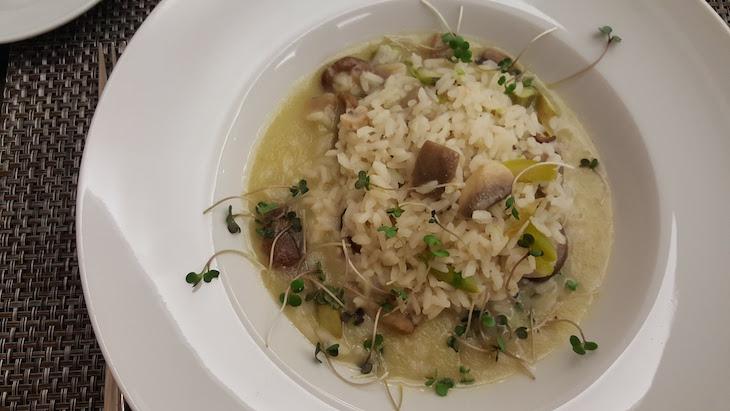 arroz cremoso de cogumelos e espargos verdes - Foral de Valdevez © Viaje Comigo