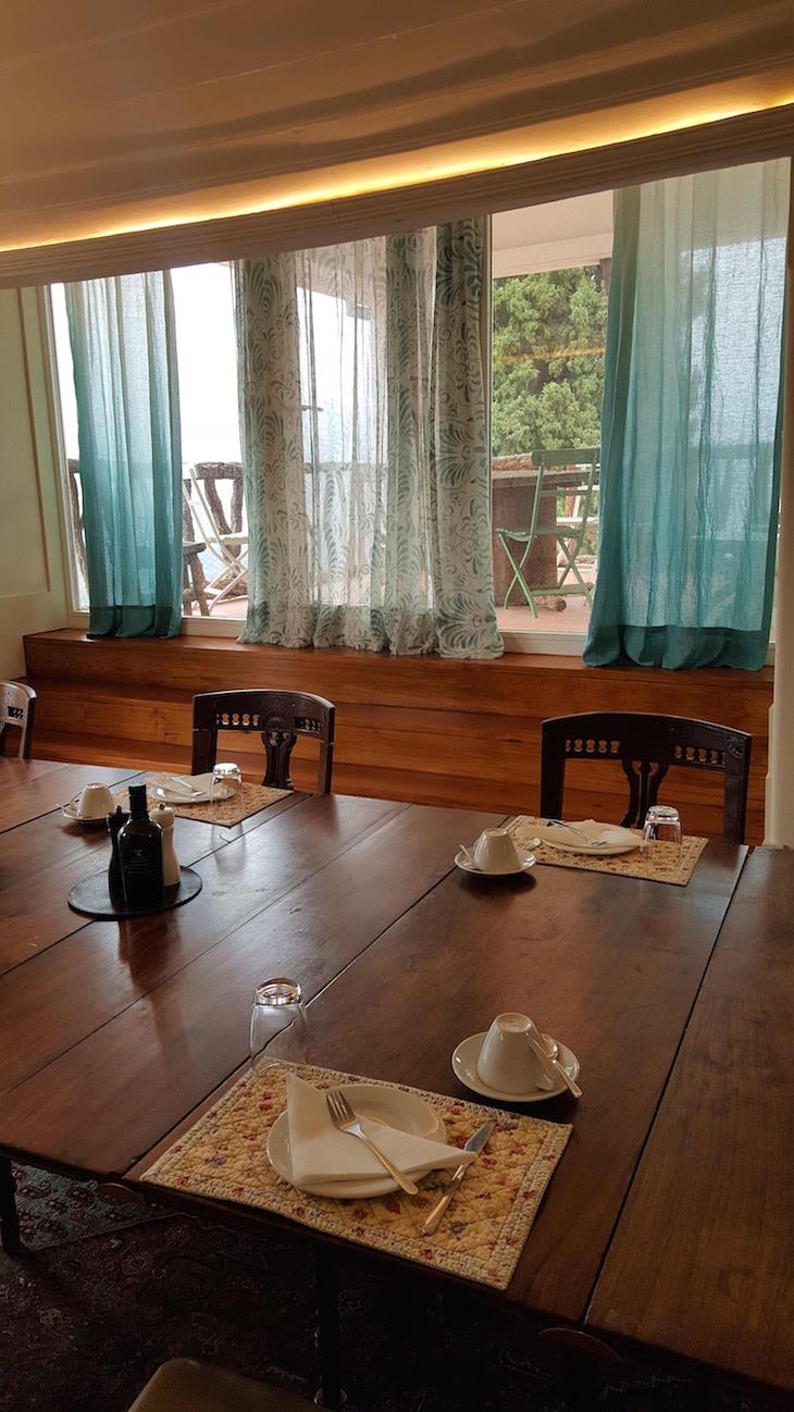Sala dos pequenos-almoços na Quinta de la Rosa © Viaje Comigo