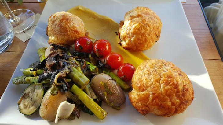 Prato vegetariano - The Kitchen - Porto © Viaje Comigo