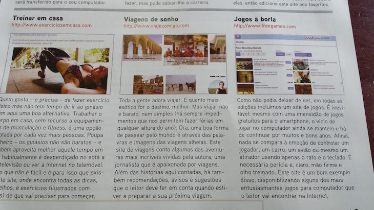 Viaje Comigo na revista PC e Internet Prática - DR