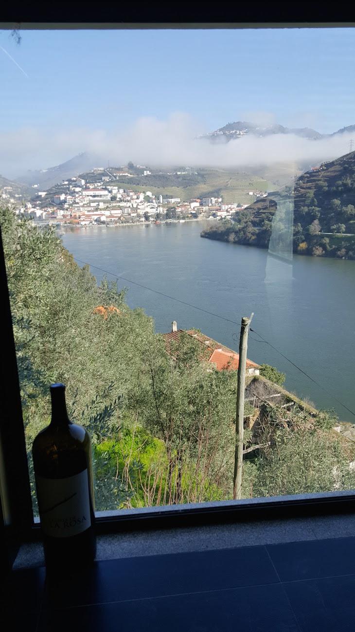Vista da Sala de provas da Quinta de la Rosa © Viaje Comigo