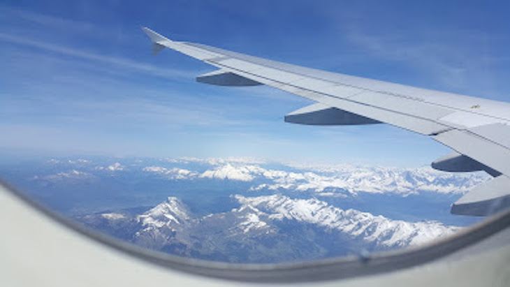 Vista do avião © Viaje Comigo
