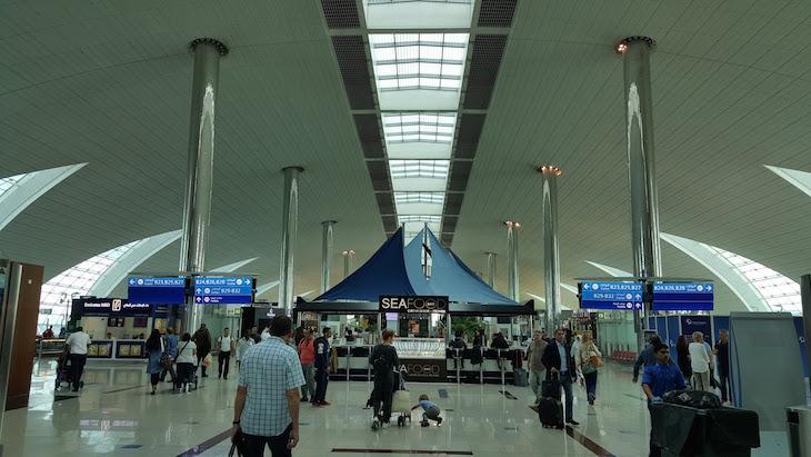 Aeroporto Dubai © Viaje Comigo